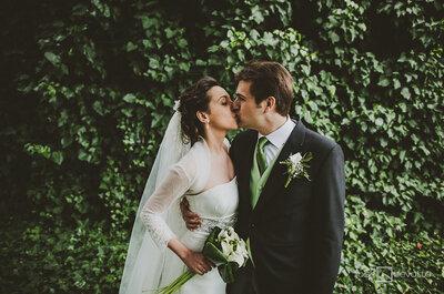 Un marco incomparable: La boda de Lourdes y Tomás en Finca Villa María