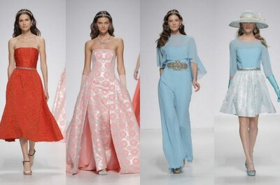 Algo nuevo entre la tierra y el cielo: colección de vestidos de fiesta Ana Torres 2015