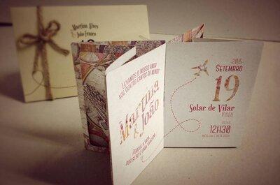 Como personalizar o seu convite de casamento?