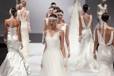 7 tendenze glam per la sposa 2015 dalle passerelle di Sì Sposa Italia