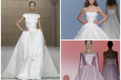 Heiraten wie eine Prinzessin: Brautkleider in A-Linie für 2015