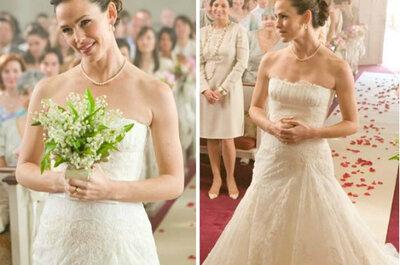 Los 5 vestidos de novia de película más bonitos
