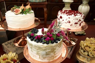 A Trio of Wedding Cakes: The Best Trend for 2017