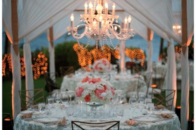 Candélabres pour la décoration de votre mariage : chic et style garantis