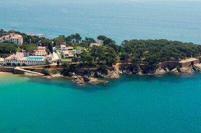 Hostal de La Gavina: свадьба мечты на Средиземном море