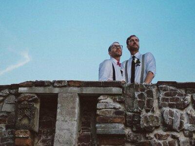De inspirerende bruiloft van het knappe stel Marc & Matray!