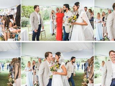 Alex y Carolin: ¡una boda colombiana!