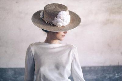 Sombrero, sombrerito...Invitadas de boda con canotiers