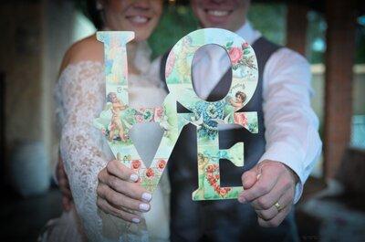 Inovando nas fotografias do casamento: mini-lousas