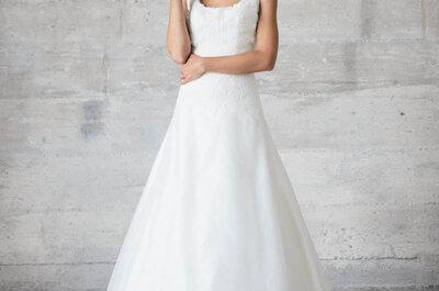 Die atemberaubendsten Brautkleider mit voluminösen Röcken aus den Kollektionen 2015 internationaler Designer
