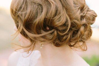 Bruidskapsels 2015: krullen! Inspiratie voor de stijlvolle bruid