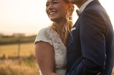 Le mariage délicat, chic et liberty de Camille + Paul dans le Pas-de-Calais