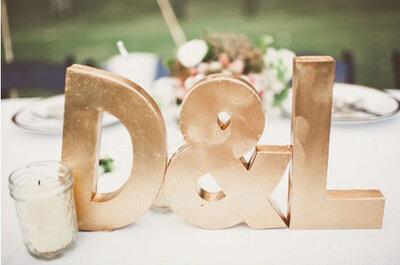Edle Gold-Akzente für Ihre glamouröse Hochzeit 2013