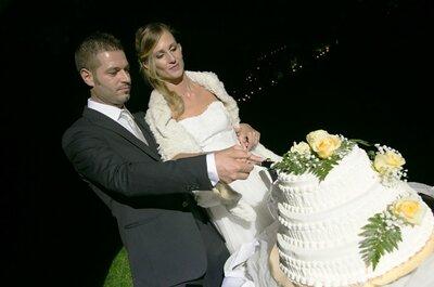Serena e Abramo, organizzazione last minute per un matrimonio 10 e lode!