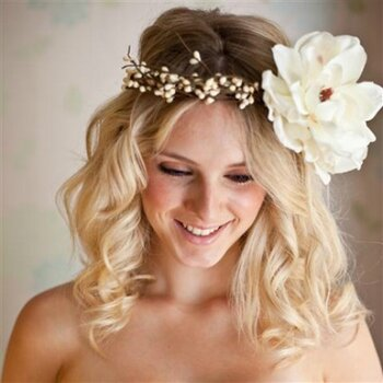 Flower Power: Floral Crowns and Wreaths for a Bohemian Bride