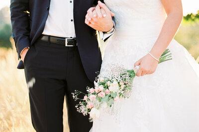 Maria & André: Um casamento que celebra uma história de amor entre dois amigos de infância