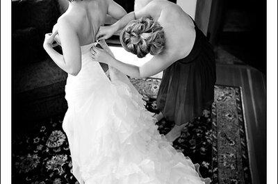 Derniers préparatifs de la mariée à quelques heures de la cérémonie