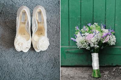Inspírate en la romántica boda de Dan y Emma
