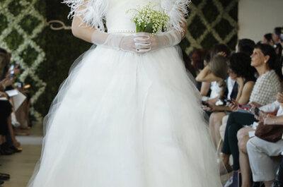 Suknie ślubne Oscar de la Renta - sezon wiosna 2013