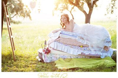 Ensaio fotográfico temático para noivas