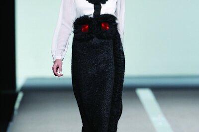 Vestidos para invitadas de Miguel Palacio Otoño/Invierno 2014
