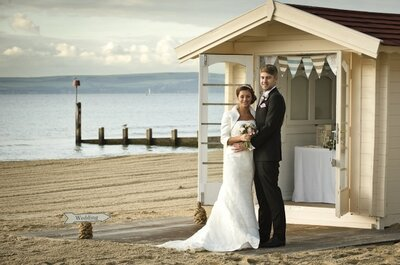 Getting married on a beach - England's first beach wedding held in Bournemouth