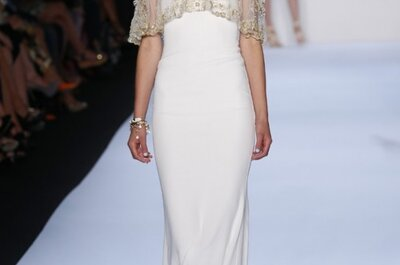 Glamorosa colección 2014 de vestidos de novia Badgley Mischka