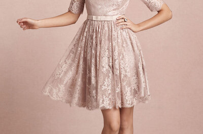 Outfit monocolor BHLDN per invitate di nozze