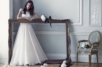 Best of British Bridal Wear: Caroline Castigliano 2015
