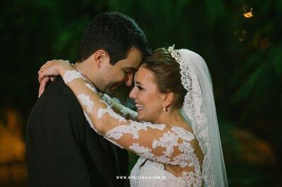 Thaissa e João: casamento clássico com cerimônia religiosa e festa linda, no Rio de Janeiro