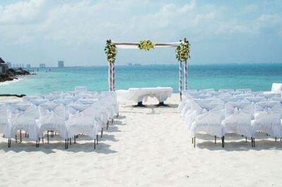Boda en Cancún: 9 hoteles de lujo a la orilla del mar