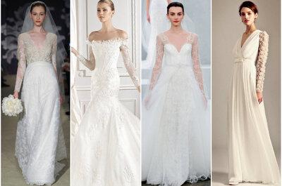 Vestidos de novia 2015: ¿cuáles serán las tendencias?