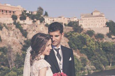 Destinados a estar juntos: la boda de Patricia y Juan