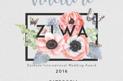 ZIWA 2016: ecco gli atelier da sposa più votati dai professionisti di nozze