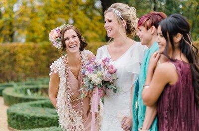 De 3 bff's van de bruid, wie zijn ze?