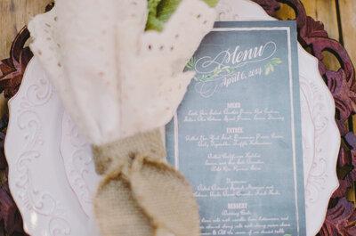 50 menus originaux pour votre repas de mariage : faites place à votre créativité