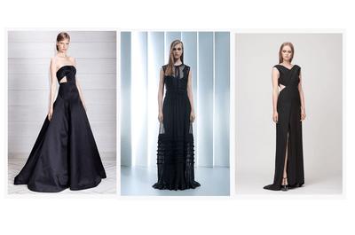 Vestidos de fiesta 2014 en color negro
