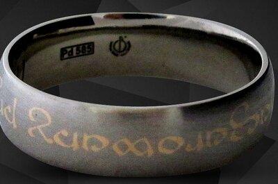 Jedyne w swoim rodzaju, personalizowane obrączki ślubne