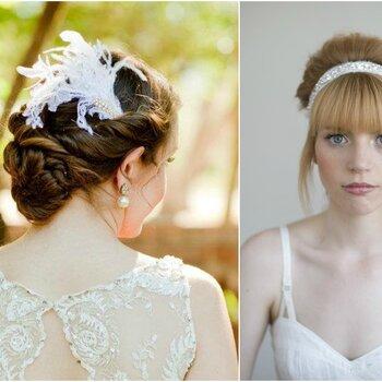Brautfrisuren 2015: Entdecken Sie, was Sie mit Ihrer langen Mähne alles anstellen können!