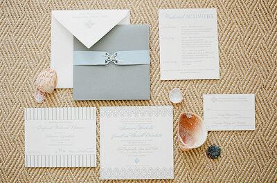 Selección 2014 para invitaciones según la temática de la boda