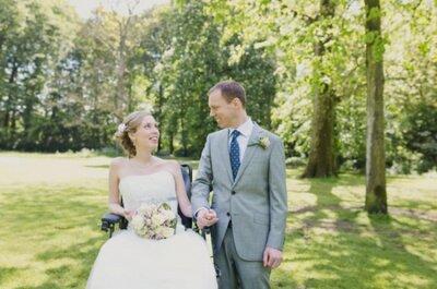 A diferença está em nós: o casamento de mãos dadas com a deficiência.