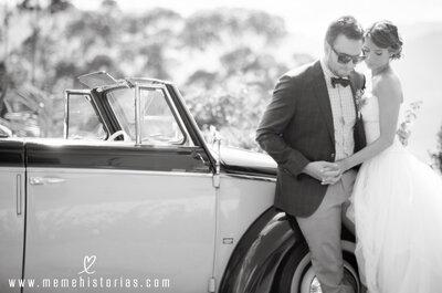 Cómo escoger el traje de novio perfecto según el momento del día en el que sea la boda