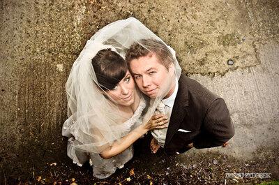 Stylizacja ślubna i sesja w Irlandii - Kasia i Wojtek