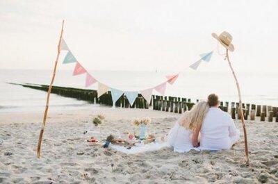 Bodas reales: organiza una boda sencilla en la playa