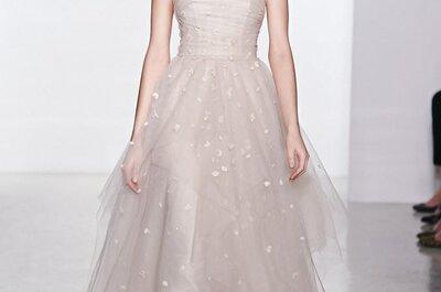 Colección Christos 2015: sutil romanticismo en la Bridal Week de Nueva York