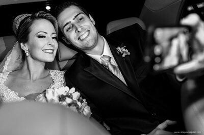 Franciele & Eduardo: casamento clássico em BH sela amor entre almas gêmeas!