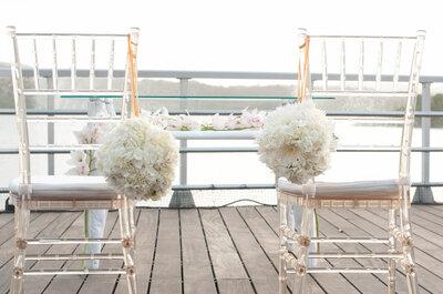 ¿Qué tipo de silla quieres para tu boda? ¡Conoce 9 fantásticos estilos!