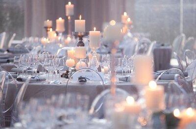 Crea diferentes ambientes para tu boda