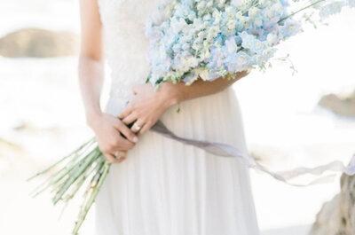 Come decorare il tuo matrimonio con l'Azzurro Serenity: t'innamorerai a prima vista