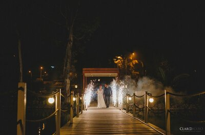 Luz ámbar para matrimonios: Descubre cómo integrarla a la decoración de tu boda